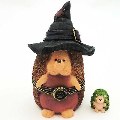 Boyds Bears Resin WITCHLEY HALLOWHEDGE Polyresin Halloween Treasure Box 4022268