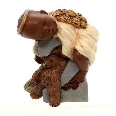 All Gods Children LEVI Polyresin African American Age 2 Angel 2702