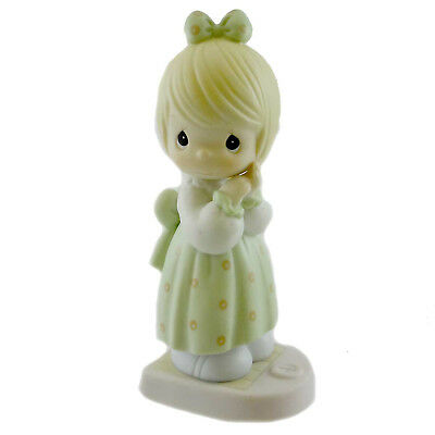 Precious Moments I'LL WEIGHT FOR YOU Porcelain Friendship 521469