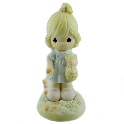 Precious Moments SOW LOVE TO GROW LOVE Porcelain Friendship 630007