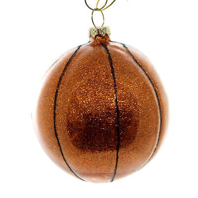 Holiday Ornaments BASKETBALL Glass Sports Team Play 67138