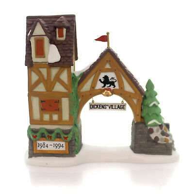 Department 56 Accessory POSTERN Porcelain Dickens Village Sign 98710