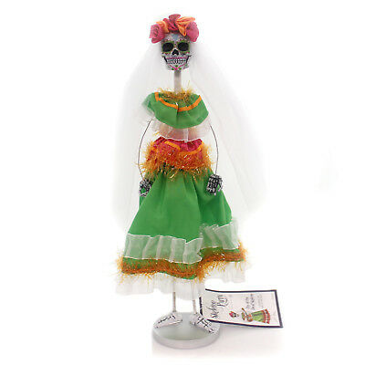 Halloween DAY OF THE DEAD SKELETON Polyresin Woman Female 4052633