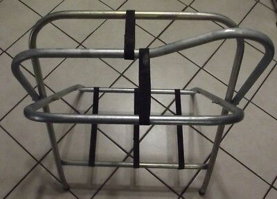 Metal Lighweight Saddle Stand Collapsible Used Pre-Owned Good Condition