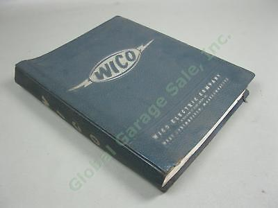 Vtg 50s 60s Wico Small Engine Ignition Magneto Part List Service Instruction Lot