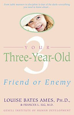 Yr Three Year Old by Ames, Louise Bates Paperback Book The Cheap Fast Free Post