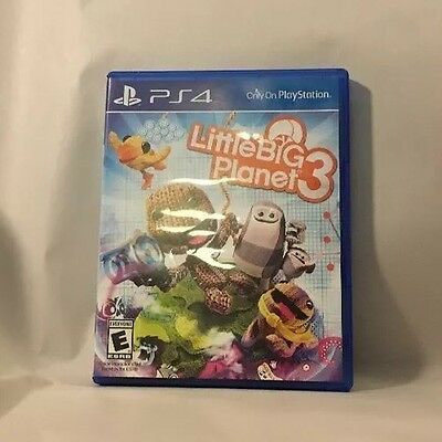Little Big Planet 3 Sony PlayStation 4 PS4 Kids Adventure Game TESTED