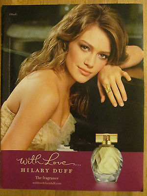 Hilary Duff, The Fragrance, Full Page Ad