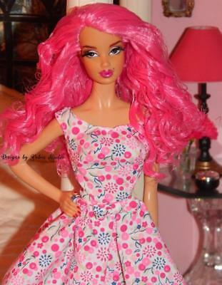 Steffie Loves Pink~Ooak Model Muse Barbie Doll