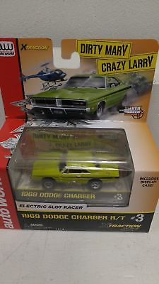 Auto World AW527 HO 1969 Dodge Charger R/T Electric Slot Car NIB