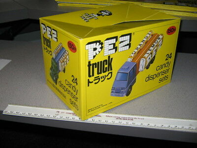 PEZ JAPAN TRUCK series A & B store display box cover
