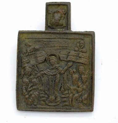 Medieval Christianity Icon lot. 18 Century