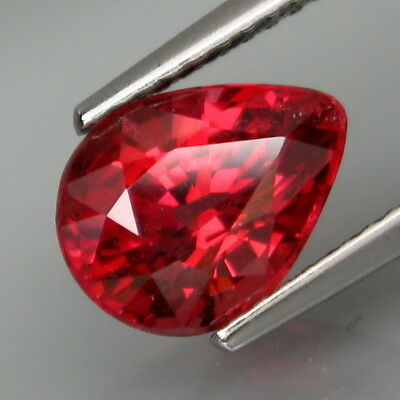 2.67Ct.Very Good Color&Full Sparkling! Natural Rich Pink Zircon Tanzania