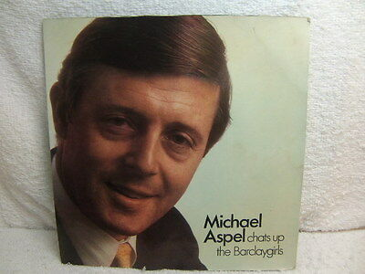 Michael Aspel Chats Up The Barclaygirls 1970 Flexi Disc Lyntone LYN 1979 PS