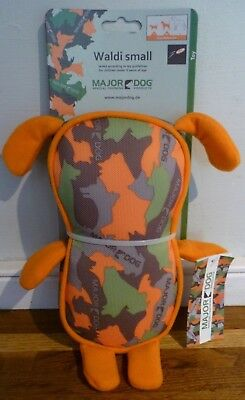 MAJOR DOG Waldi Small Dog Training Toy - 250 mm / 240g - Brand New With Tags