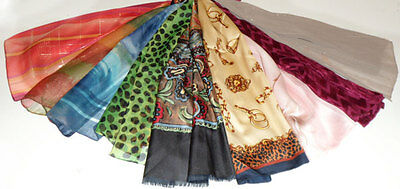 Job Lot 50 Ladies Polyester Scarves / Shawls - *reduced Price*