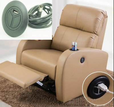 USB 2 Button Lift Chair Sofa Hand Control Power Recliner Switch Offered 5 pin