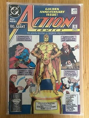 Action Comics No 600 Golden Anniversary 60-Page Giant Superman Wonder Woman RARE