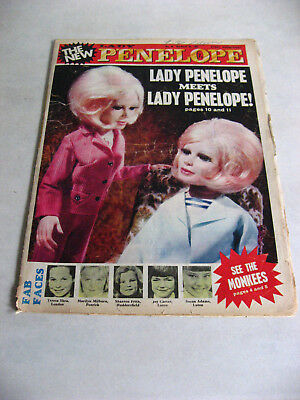 1967 Lady Penelope Comic No.62 - Complete And In Reasonable Condition