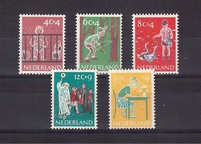 NETHERLANDS 1959 Set # B336/340 VF MINT NH !!
