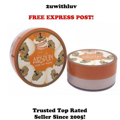 Coty Airspun Loose Face Setting Powder Translucent Extra Coverage Fast Post!