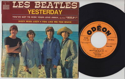 The BEATLES * Yesterday * Rare 1965 French EP *