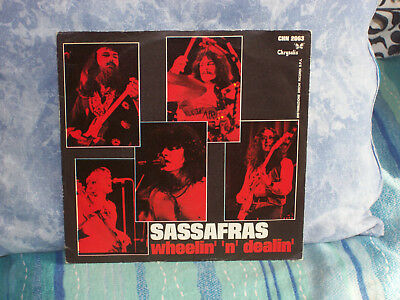 "Sassafras - Wheelin' 'n 'dealin' - 7"" Nm - 1975"