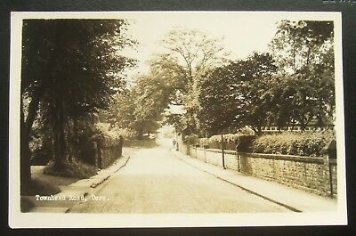 Postcard Real Photo : Townhead Road, Dore, South Yorkshire (Old Derbyshire)