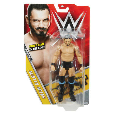 """Wwe Austin Aries Action Figure Series 71 6"""" Scale Mattel Toy"""