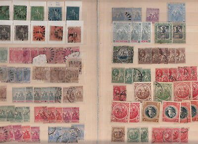 Barbados 5 Stockpages Values/sets Mint/used