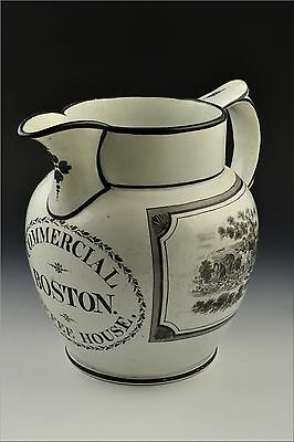 19th Century Boston Commercial Coffee House. Liverpool Jug