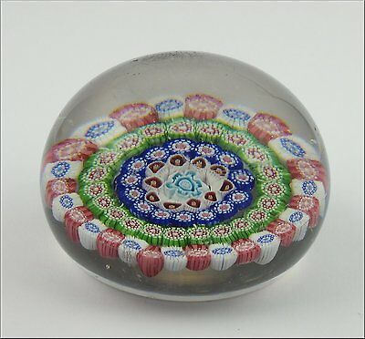 French Baccarat Mid 19th Century  Paperweight