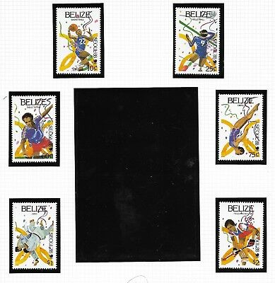 Belize 1988 Olympic Games set MNH