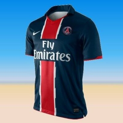 Large Paris Saint-Germain Official Nike 2010 - 2011 Home Shirt