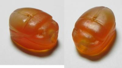 ZURQIEH -ev21- Ancient Egypt. New Kingdom. 1550 - 1077 B.C.Beautiful Carnelian