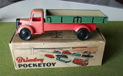 Brimtoy Pocketoy 9/510 Bedford Long Wheelbase Truck (Boxed)