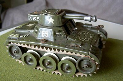 German Gama No.65/3 - T.65 Tinplate Clockwork Tank (U.S Zone)