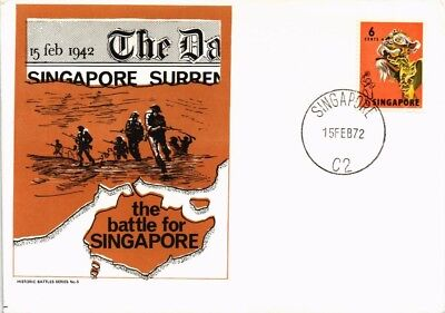 Dr Jim Stamps Wwii Battle For Singapore Historic Battle Series Cover 1972