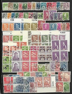 DENMARK Selection on Old Stock Page