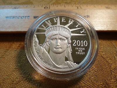 2010-W American Eagle Liberty 1 Ounce Proof .9995 Platinum Coin - Free S&H USA