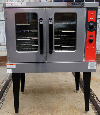Vulcan VC5GD Single Deck Gas Standard Depth Convection Oven - Free Shipping