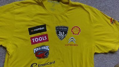 Petter Solberg World Rally Team Official  T-Shirt..*v Rare* Size2Xl
