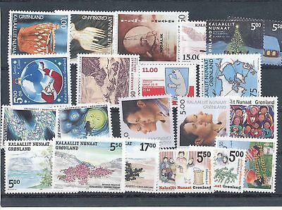 34951/ Grönland ** MNH Lot / Mixture 2003-2004