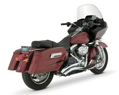 Vance & Hines Big Radius 2:2 Exhaust Full System Chrome For Harley FL 95-06