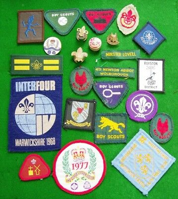 Lot of Boy Scout Items