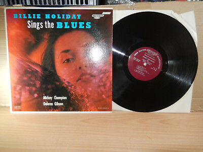 Billie Holiday Sings The Blues (1957 Score USA) LP