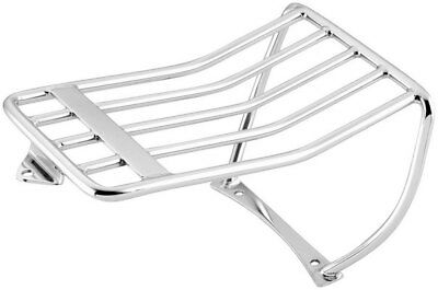 Bikers Choice Luggage Rack Chrome for Harley FXDWG FXDF 06-10