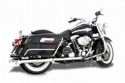 Samson Exhaust Mufflers Silver Bullet Turn Down for Harley