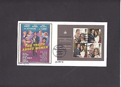 2011 Royal Wedding M/Sheet New Issue Stamps Cambridge S.C. Official FDC. 1 of 10