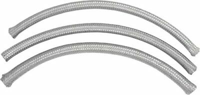 Namz Braided Oil Line 3/8 Inch ID 25 Foot Stainless Steel For Harley-Davidson